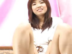 Cute japanese chick teasing...